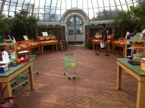 Pretend Farmer's Market at Phipps