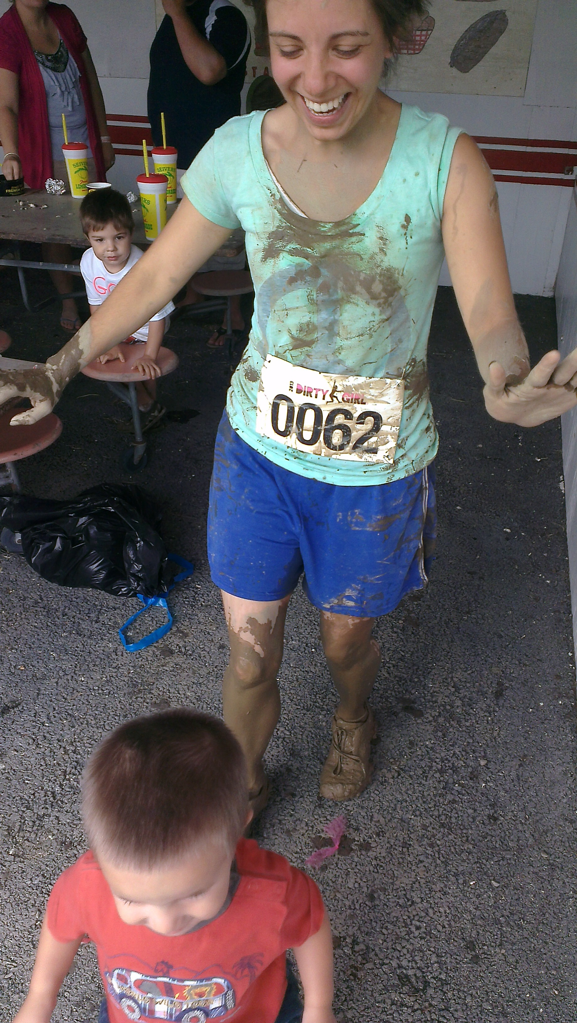 The Mommy Mud Monster
