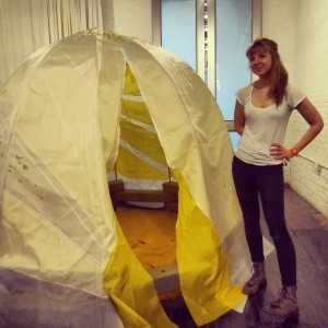 The Mattress Factory's new mobile pop-up space with Katie Ford, the artist who designed it