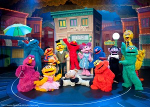 TM/© 2014 Sesame Workshop. All Rights Reserved. Photographs courtesy of VEE Corporation. Photos provided by Bruce Silcox.