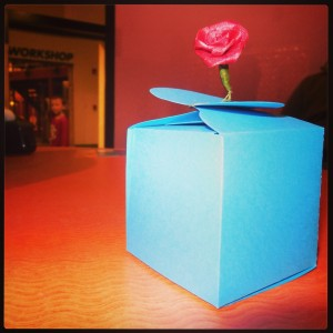 A handmade box that children can create for someone they love