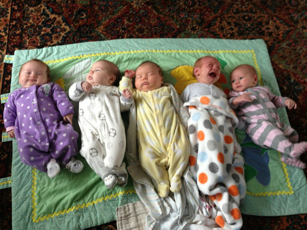 The Covey Babies, early on