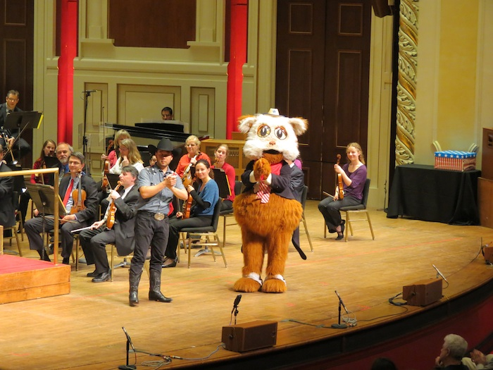 Fiddlesticks Family Concert series, Photo courtesy of the Pittsburgh Symphony Orchestra