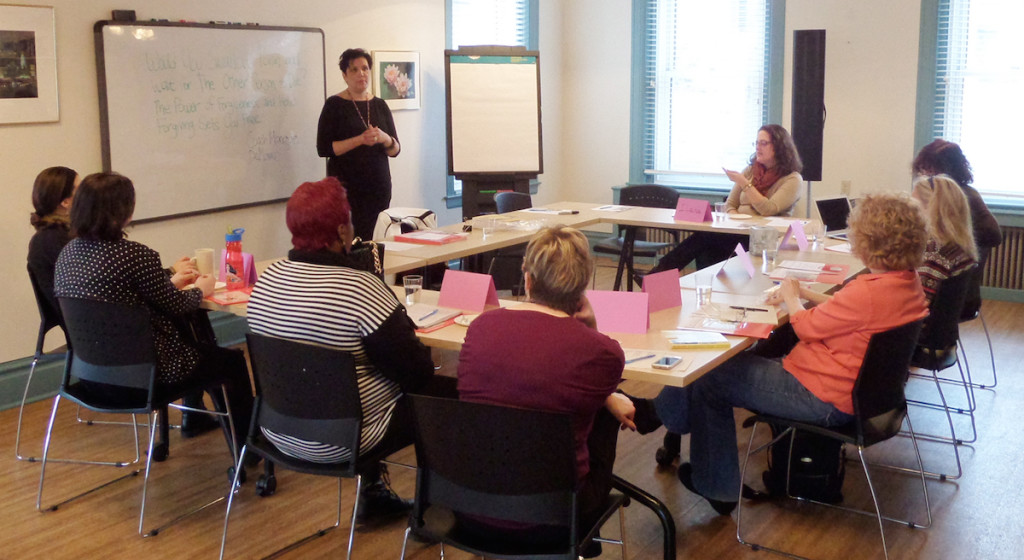 Workshop at the Center for Women in Squirrel Hill, Photo courtesy of CFW