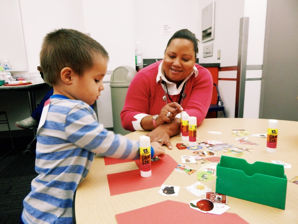 Tot activities at the Children's Museum of Pittsburgh