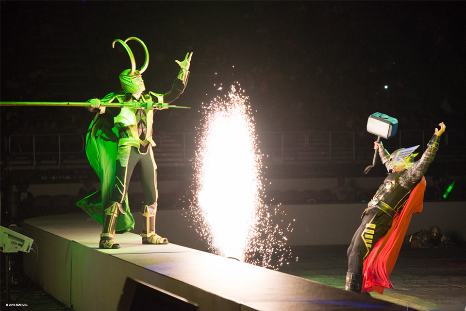Marvel Universe Live!, Photo courtesy of Feld Entertainment
